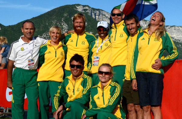 Team SA pre race, courtesy trailrunsa.co.za
