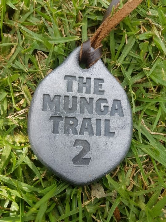 The Munga medal – every medal has your finishing position on it